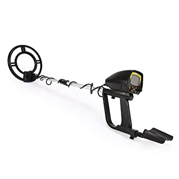 Lorenlli MD4060 Profesional Mini Detector de Metales Subterráneo Portátil de Mano Treasure Hunter Buscador de Buscadores de Oro Longitud Ajustable: ...