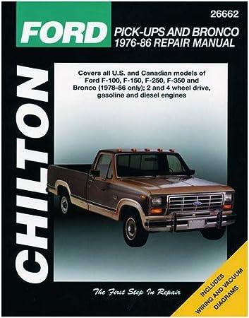 chilton 26662 ford pick up \u0026 bronco repair manual (1973 1979)