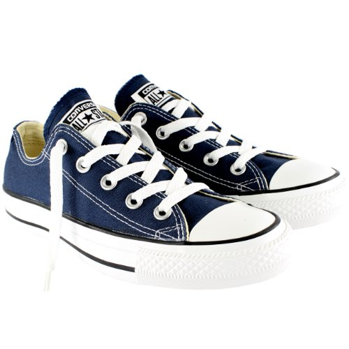 Converse Chuck Taylor All Star Canvas Lage Sneaker (13 B (m) Ons Dames / 11 D (m) Ons Heren, Marine)