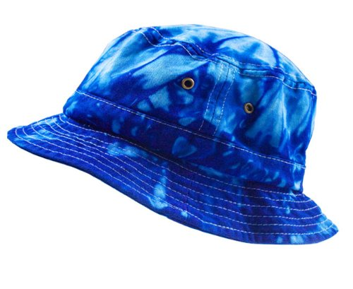Colortone Bucket Hats Adult Spider Royal Adult Bucket Hat
