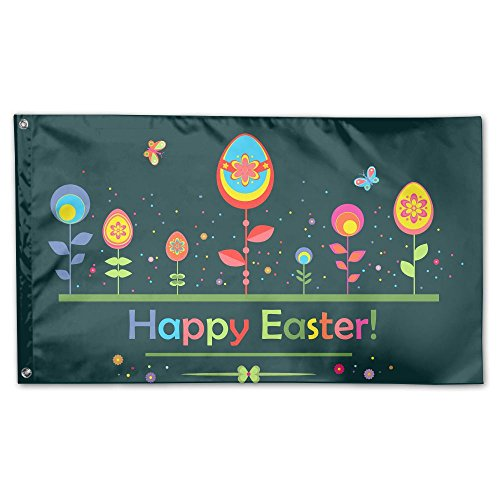 Garden Flag Easter Color Plant Outdoor Yard Home Flag Wall L
