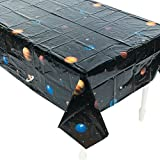 Toys : Plastic Outer Space Table Cover