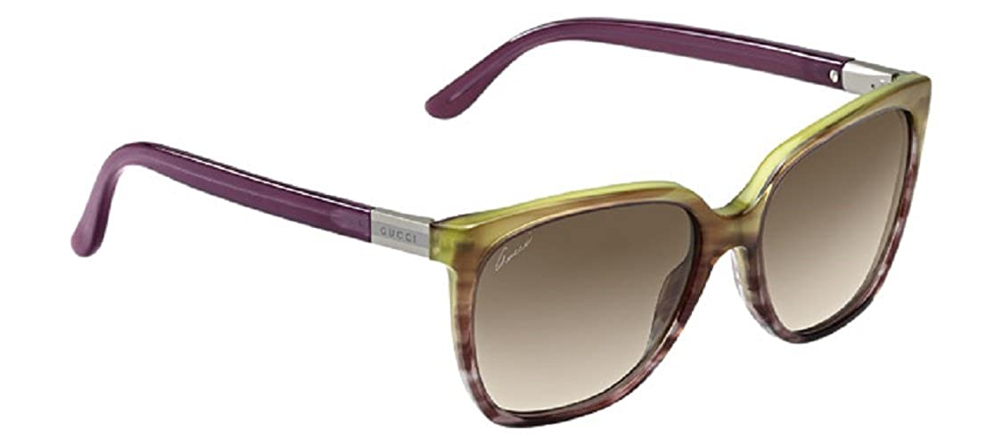 0a06206b468 Amazon.com  Sunglasses Gucci 3502 S 0WQY Violet Lime  Shoes