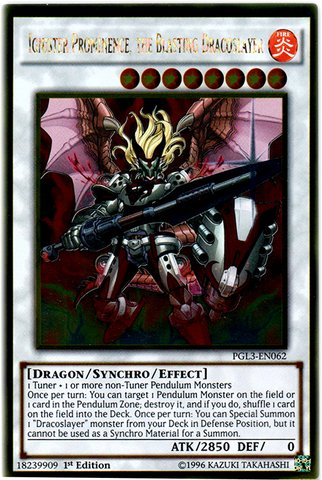 - Yu-Gi-Oh! - Ignister Prominence, the Blasting Dracoslayer (PGL3-EN062) - Premium Gold: Infinite Gold - 1st Edition - Gold Rare
