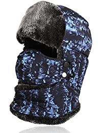 Trapper Hat, Super Warm Hunting Hat For Men Women Kids