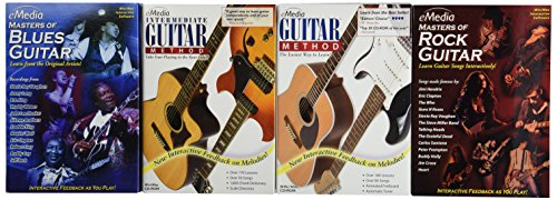 eMedia Guitar Collection (4 volume set) by eMedia