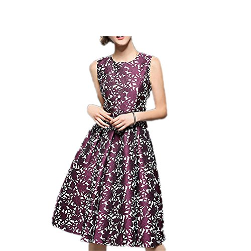 DicoverCandy Vintage Dresses Print Retro 50s Dress Vestidos As picture L (50s Day Dress Up Ideas)