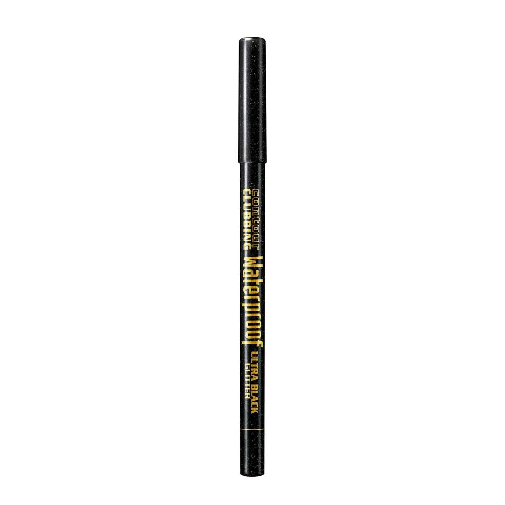 Bourjois Xmas Contour Clubbing Liner, Ultra Black Glitter, 1.2 g Coty 29101332055