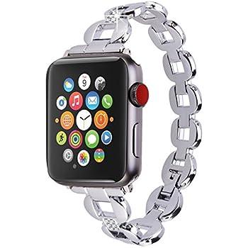 Amazon.com: Moretek Band for Apple Watch Series 1 & 2 & 3