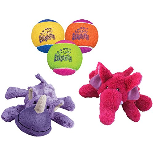 Kong Cozie Squeaky Variety Small