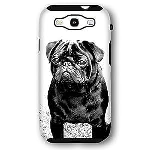Pug Dog Puppy Samsung Galaxy S3 Armor Phone Case wangjiang maoyi