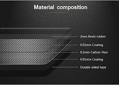 Karbonfaser Innen Mittelkonsole Handschuhfach Kante Rahmen Zierleisten 1Stk Model B