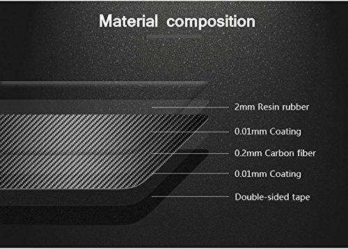HOTRIMWORLD Carbon Fiber Front Roof Reading Light Trim Cover 1pcs for Porsche Macan 2014-2018 by HOTRIMWORLD (Image #5)