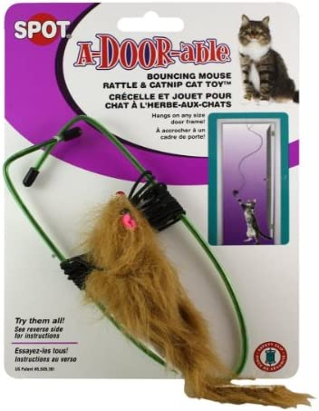 SPOT A-Door-Able Bouncing Mouse Cat Toy Size:Pack of 3