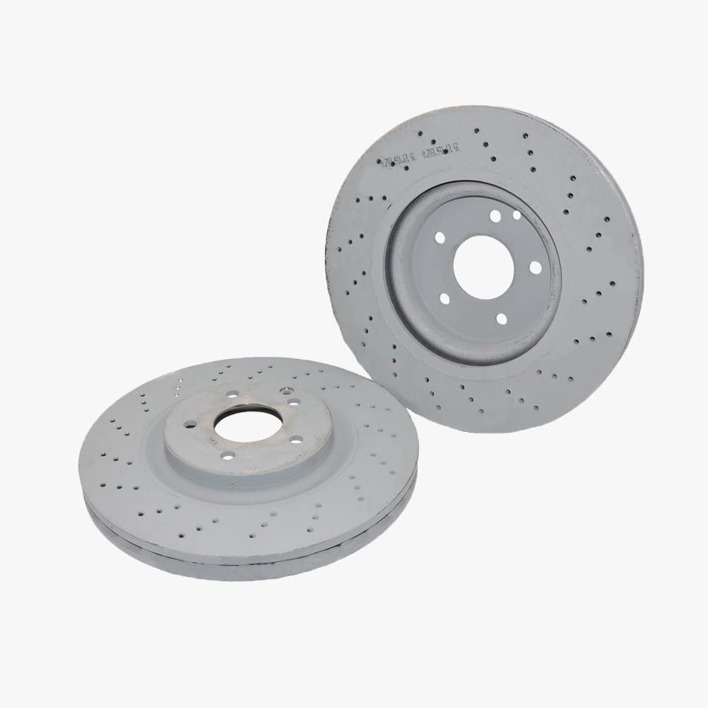 F+R Rotors /& Pads for 2004-2005 Mercedes Benz C230 Sport Package 05 Early Model