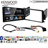 Volunteer Audio Kenwood DMX7705S Double Din Radio Install Kit with Apple CarPlay Android Auto Bluetooth Fits 1998-2002 Continental