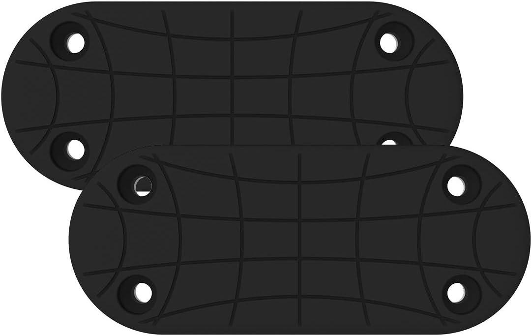 topmeet Gun Magnet Mount for Car Holster Adhesive Backing,for Vehicle and Home,Concealed Magnetic Holder Rack for Rifle, Shotgun, Pistol, Revolver,Truck,Wall, Vault, Desk,Glock - 2 Pack Round