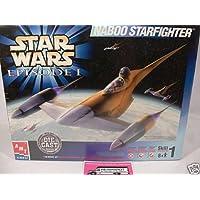 ERTL Star Wars Episodio I Naboo Starfighter Die Cast Model Kit 1:48
