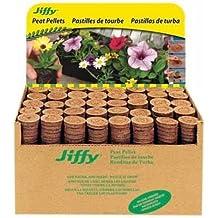 Jiffy-7 5701 Peat Pellet without Hole, 1000/Bulk Box