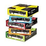 Astrobrights Mixed Carton, 24lb, 8-1/2 x 11, Assorted, 2500 Sheets/Carton, Sold as 2 Carton, 5 Ream per Carton