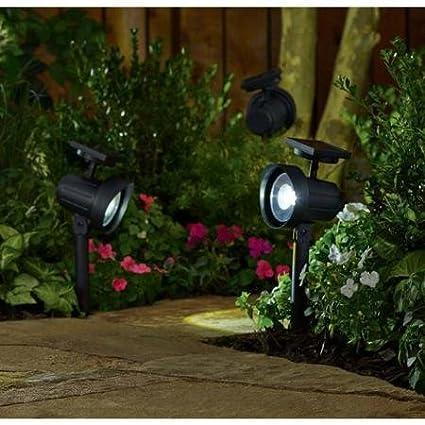 Better Homes and Gardens 6-Piece Solar-Powered Adjustable Spotlight Set Black Finish & Amazon.com: Better Homes and Gardens 6-Piece Solar-Powered ... azcodes.com