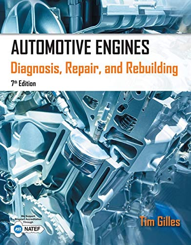 Automotive Engines: Diagnosis, Repair, Rebuilding (Engine Rebuilding)