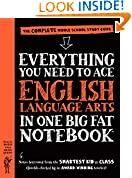 #10: Everything You Need to Ace English Language Arts in One Big Fat Notebook: The Complete Middle School Study Guide (Big Fat Notebooks)
