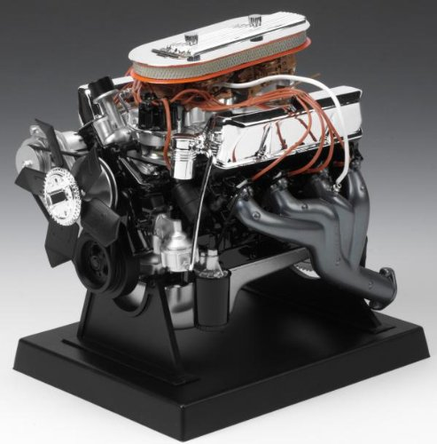 Liberty Classics Ford 427 Wedge Engine Replica, 1/6th Scale Die Cast - Diecast Engine