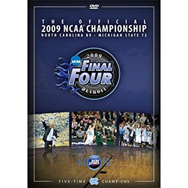 2009 Men's Official Final Four DVD- UNC National Champions- Complete Game