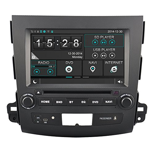 2007 Dvd Book - Rupse For 2006 2007 2008 2009 2010 2011 Mitsubishi Outlander 8 Inch Car DVD GPS Player with Bluetooth Phone book and Music (OEM Factory Style,Free Maps)