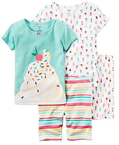 carters-little-girls-4-piece-snug-fit-cotton-pajamas-24-months-pink-white-blue