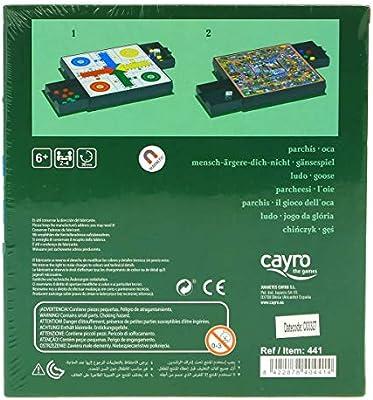 Cayro Parchis Oca Magnetico: Amazon.es: Juguetes y juegos