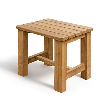 Pleasing Teak Stool Ideal Shower Bench In Bathroom Durable Spa Bench Quick Drying Small Pdpeps Interior Chair Design Pdpepsorg