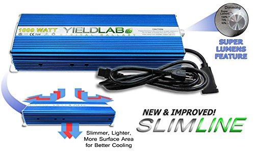 Yield Lab 1000w SLIM LINE Digital Dimming Ballast by Yield Lab