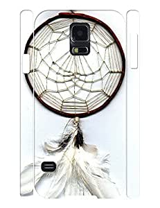 Super Slim Antiproof Special Handmade Dream Catcher Pattern Phone Skin for Samsung Galaxy S5 i9600 Case
