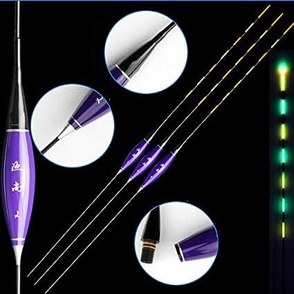 3pcs/lot Nano Material compuesto de flotadores de pesca flotador 1 – 3 # Indicador