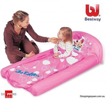 Bestway Cama de aire para niñas juguete 67375: Amazon.es: Hogar