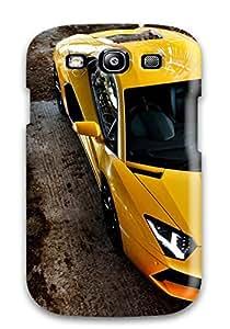 Jeremy Myron Cervantes Galaxy S3 Hybrid Tpu Case Cover Silicon Bumper Lamborghini Aventador Car
