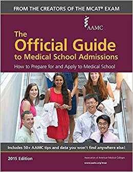 Amazon com: The Official Guide to Medical School Admissions