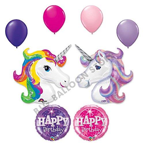 Unicorn Sparkle Birthday Balloon Bouquet product image