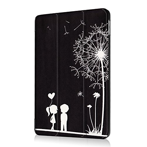 Apple Cover for 7 New 9 Slim Paint Case 5th Hard Trifold Wake 2017 Function iPad Inch Lightweight Painting Back iPad with Church Stand Sleep Case lovers 6th 7 Romantic Ultra Smart ipad9 Generation 2018 Maeco window new qgwxS4tw