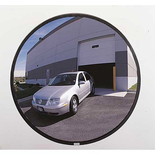 160-Degree Economy Outdoor Acrylic Convex Mirror, 18