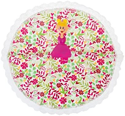 VIGAR Dolls Floral Paño para El Hogar, Material: Microfibra, Rosa ...