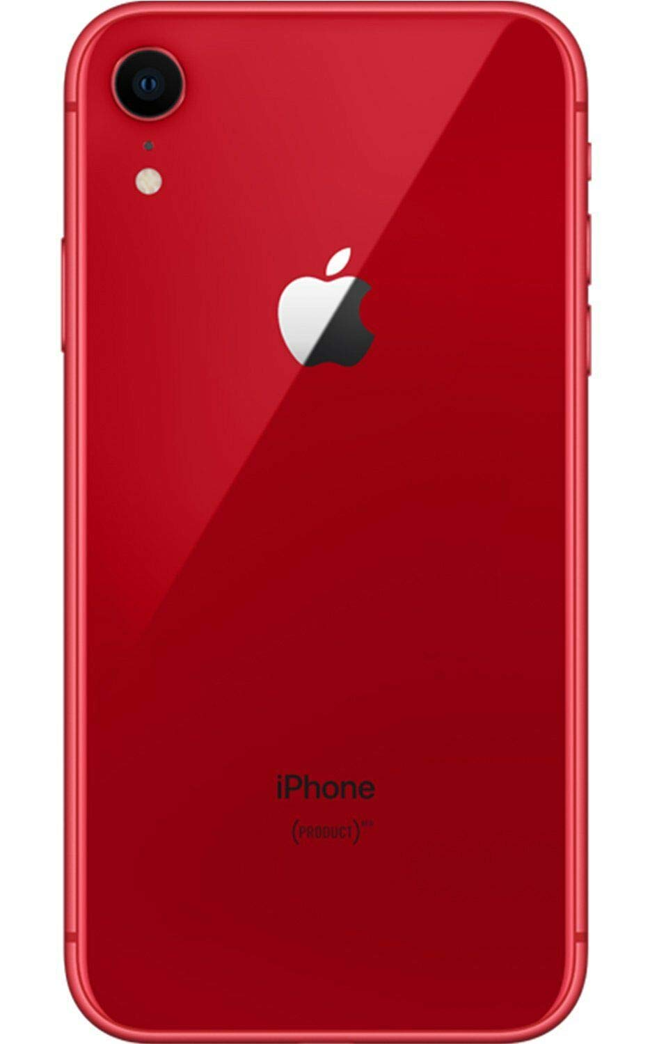Apple iPhone XR, 64GB, Red , Fully Unlocked (Renewed)