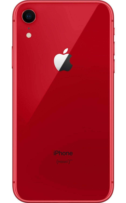 Apple iPhone XR, 128GB, Red , Fully Unlocked (Renewed)