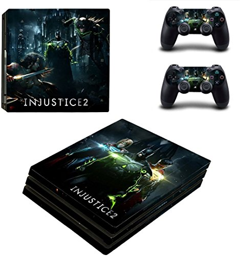 Price comparison product image INJUSTICE 2 stylish design 1 vinyl skin for sony PS4 PRO