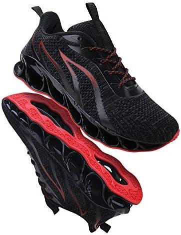 51oPu26WvlL. AC TIAMOU Men Running Walking Shoes Sport Athletic Wihte Jogging Sneakers    Product Description