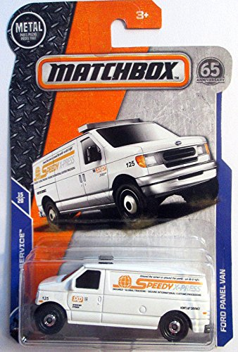 Matchbox 2018 MBX Service 15/20 - Ford Panel Van (Speedy -