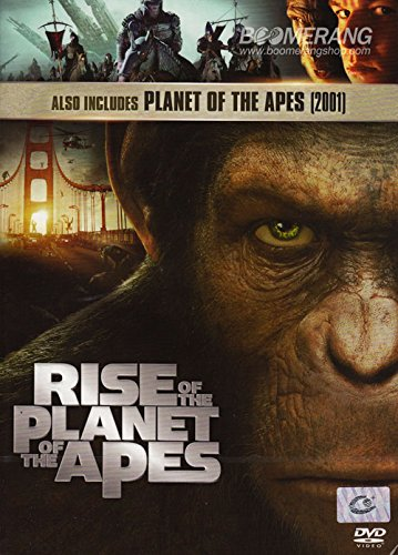 Amazon Com Rise Of The Planet Of The Apes 2011 Planet Of The Apes 2001 Dvd 2 Pack Movies Tv