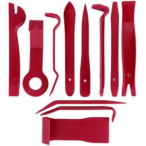 Graceme Outil Démontage Garniture Installation Kit Outils anti Rayure Car Removal Tool pour panneau/autoradio/accessoires/porte/tableau de bord de voiture 30%OFF